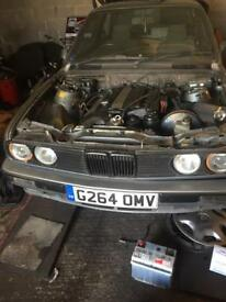E46 engine and gearbox 325ci