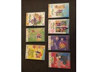 Children's dvds £1 each, Peppa Pig, teletubbies, mr Tumble, gigglebiz, CBeebies etc