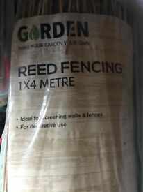 Reed/Bamboo fencing x3 packs NEW