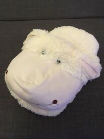 Sheep Foot Cosy (Giant Slipper/Cushion)
