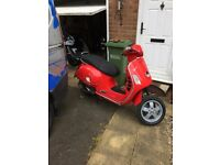Vespa GTS 250 Project Runs 2207