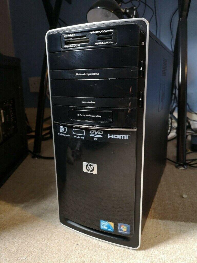 Windows 10 Desktop PC HP 6000, Intel i5 750, 8GB Ram, HDD 640GB, GPU Asus  1GB DDR5 | in Reading, Berkshire | Gumtree