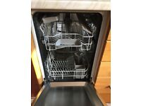 Integrated Bosch dishwasher : slimline: little used- VGC: sale due to kitchen revamp