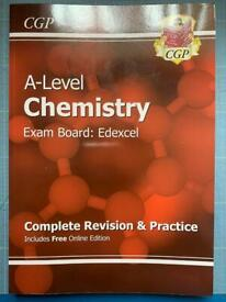 A level chemistry Edexcel complete revision & practice