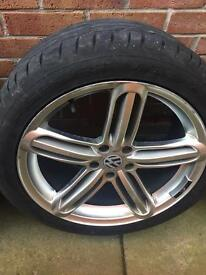 RS4 ALLOYS WITH TYRES 19INCH