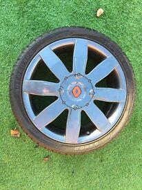 Renault Sport Megane 225/230/R26/F1/R26R Original Alloy Wheels