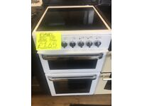 FLAVEL 50CM CEROMIC TOP ELECTRIC COOKER IN WHITE