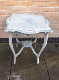 Shabby Chic Edwardian Table