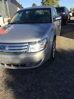 2008 Ford Taurus Limited/LEATHER/SUNROOF ALLWHEEL DRIVE/WARRANTY