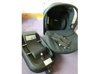 Simplicity silvercross car seat with isofix base as a bundle
