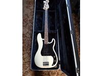Fender Precision Bass with Gator hard case