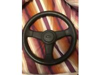 3 spoke XR3i steering wheel, not sierra cosworth, rs500, escort