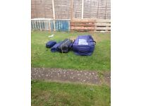 8 man tent good condition