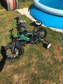 """Boys Raleigh BMX bike 14"""""""