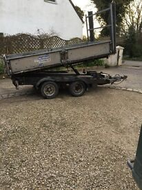 Ifor Williams tipper 10ft tipping trailer