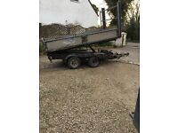Ifor Williams 10ft tipping trailer