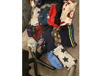 Bundle of 16 Boys size 2-3 jumpers