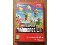 New super Mario bros Nintendo Wii game