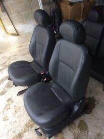 Ford Focus 2004 leather seats (3 door)