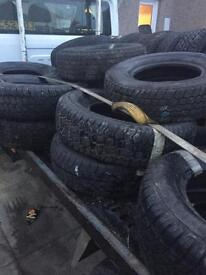 Part worn tyres for sale
