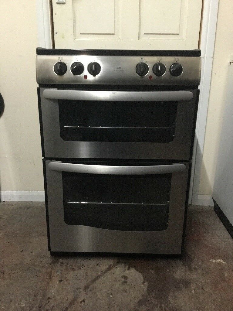 New world electric cooker E60D 60cm ceramic double oven 3 months warranty free local delivery!!!!!