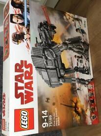 Star Wars Lego walker 75189 Bnib
