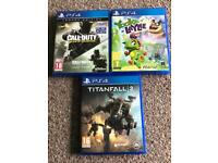 Ps4 games forsale