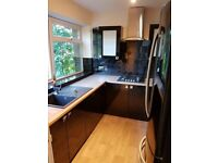 Fully Fitted Modern Black Kitchen, As New (Ex Demo for house sale) Integrated Appliances.