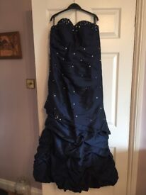 Christmas Evening prom cocktail wedding dress ball gown size 14