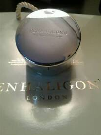 Candle - Penhaligon's of London Silver Plated Trinket Box / Candle Holder.