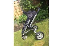 Quinny Buzz Pushchair With Pram & All Accessories - Rocking Black Great Condition
