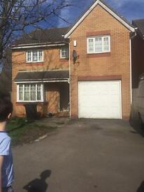 4 bedroom detached house for rent, Pengam Green