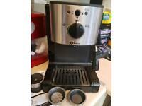 Delta coffee machine Nespresso compatable
