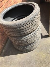 225/40R18 PART WORN TYRES FOR SALE