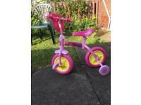 Toddler pepper pig bike