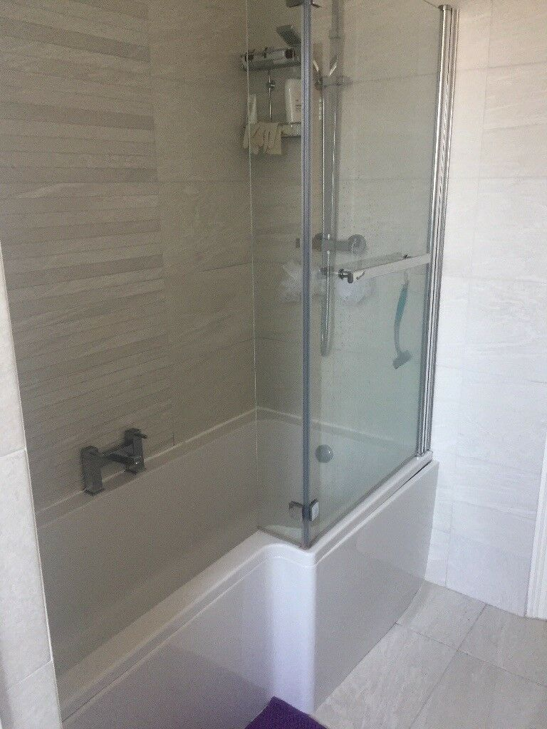 Shower bath taps and screen | in Atherton, Manchester | Gumtree