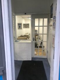 SMALL SHOP TO LET AT HOE STREET, WALTHAMSTOW, LONDON E17 9AH.