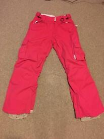 Westbeach Women's Snowboard Pants - SMALL