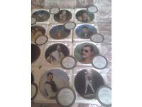 Freddie mercury commemorative plates