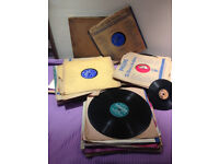 75 plus Shellac gramophone shellac records job lot ....jazz, easy listening