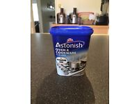 Swap only - One 500g tub of Astonish Oven Cookware Cleaner - Make me an offer.