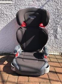 Graco high back car seat, excellent condition. Bought to use in a hire car. Bishopbriggs