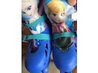 Frozen Themed Kids Roller Blades Size 3