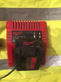 Milwaukee charger 18 vault 3.0AH and Milwaukee 1 battery