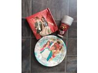 Disney disposable party plates napkins cups and cards