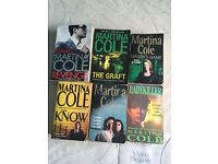 6 MARTINA COLE BOOKS