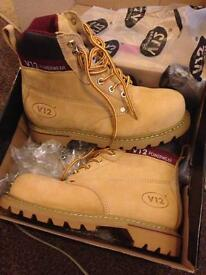 Size 7 brand new v12 safety boots