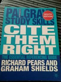 Cite them right uni book