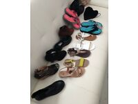 various size 3 women's shoes and sandals