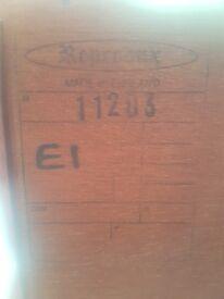 Reptodux antique mahogany coffee table